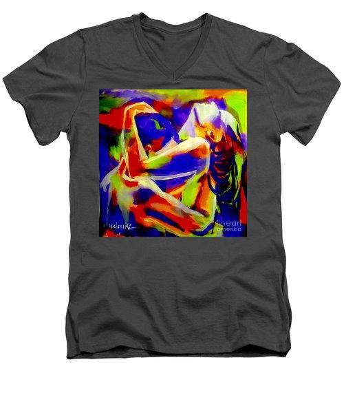 Closeness Men's V-Neck T-Shirt