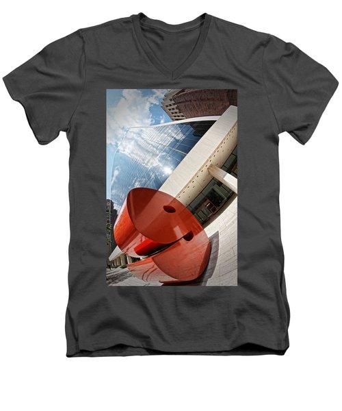Cloud 9 Men's V-Neck T-Shirt