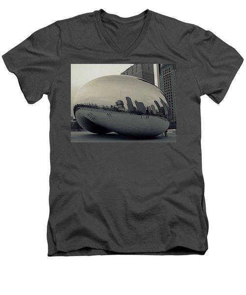 Cloud Gate Men's V-Neck T-Shirt