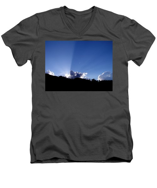 Cloud Rays Men's V-Neck T-Shirt