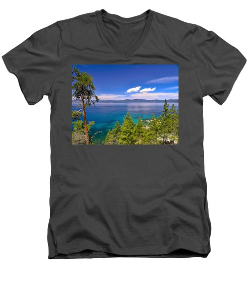 Clouds And Silence - Lake Tahoe Men's V-Neck T-Shirt