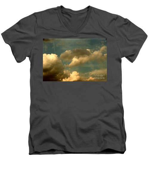 Clouds Of Yesterday Men's V-Neck T-Shirt
