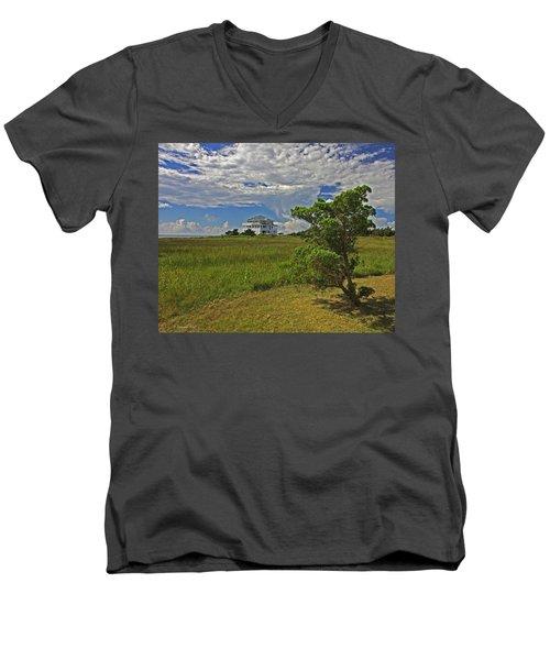 Clouds Over Hatteras Men's V-Neck T-Shirt