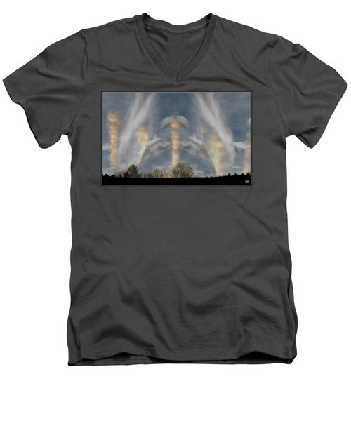 Cloudsweep Men's V-Neck T-Shirt