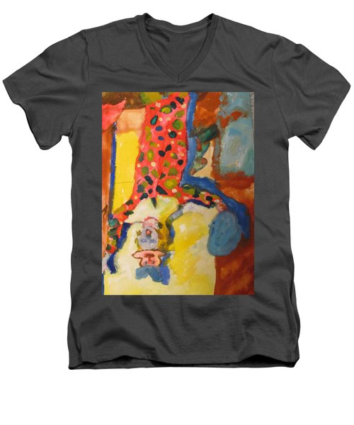 Clown Girl Men's V-Neck T-Shirt