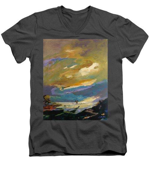 Coastline Men's V-Neck T-Shirt