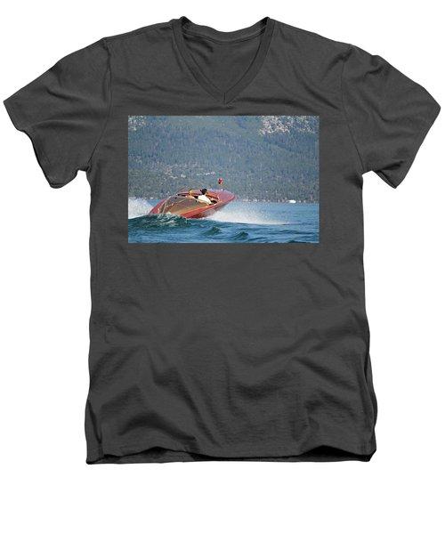 Cobra Unwinding Men's V-Neck T-Shirt