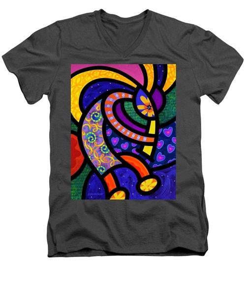 Coco Koko Pelli Men's V-Neck T-Shirt