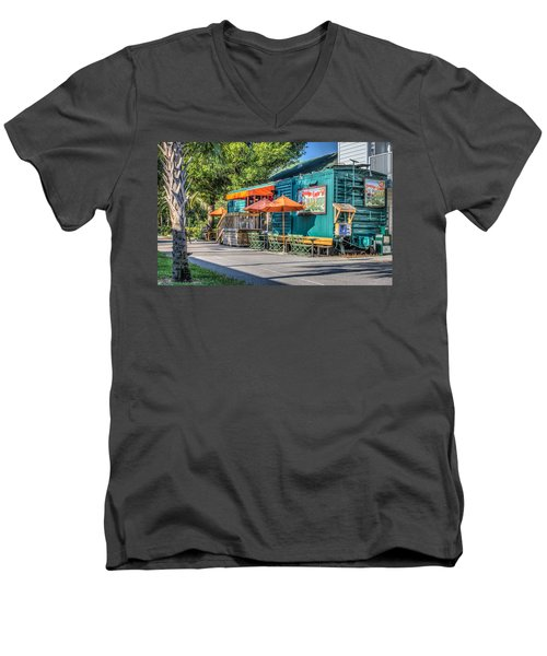 Coffee Shop Men's V-Neck T-Shirt