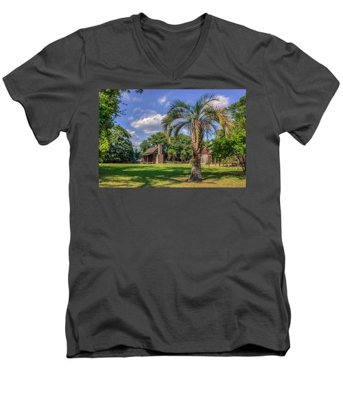 Colonial Paradise Men's V-Neck T-Shirt