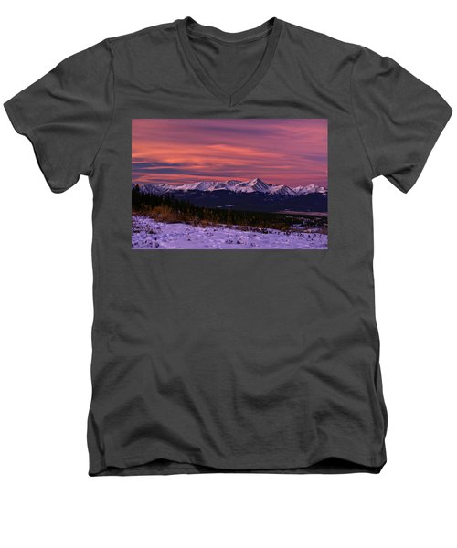 Color Of Dawn Men's V-Neck T-Shirt