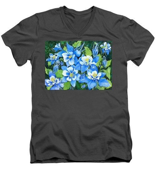 Colorado Columbines Men's V-Neck T-Shirt