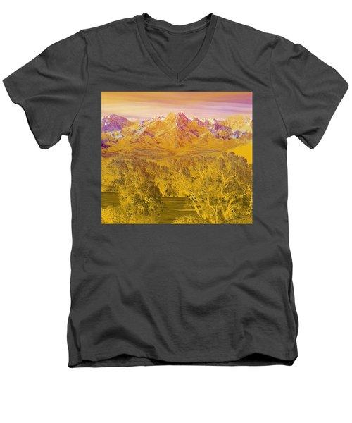 Colorado Dreaming Men's V-Neck T-Shirt