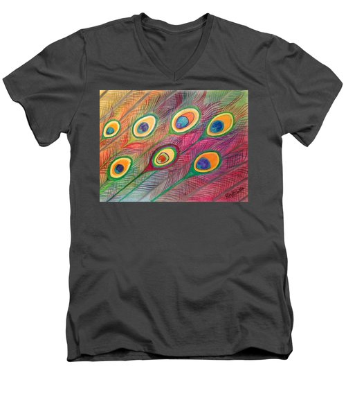 Colorful Delusions Men's V-Neck T-Shirt