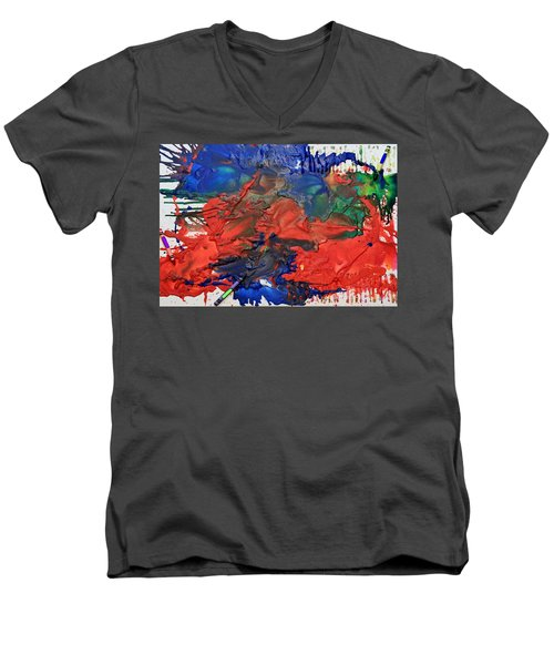 Coloring Book Men's V-Neck T-Shirt