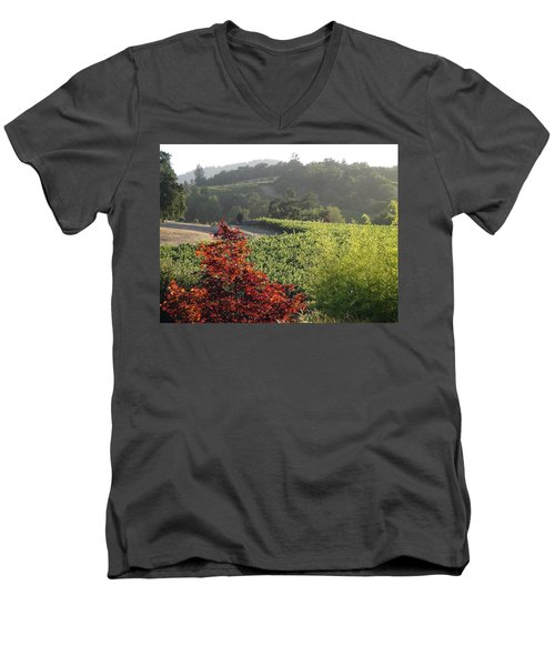 Colors Of Cali Men's V-Neck T-Shirt