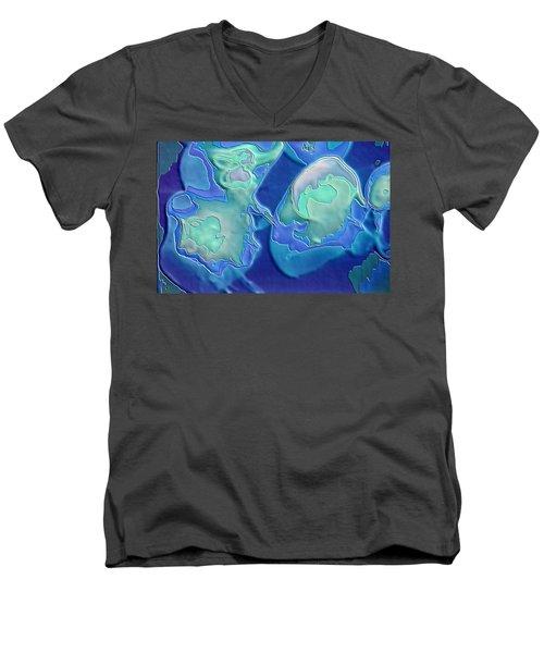 Colors Of The Sea 1 Men's V-Neck T-Shirt