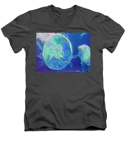 Colors Of The Sea 2 Men's V-Neck T-Shirt