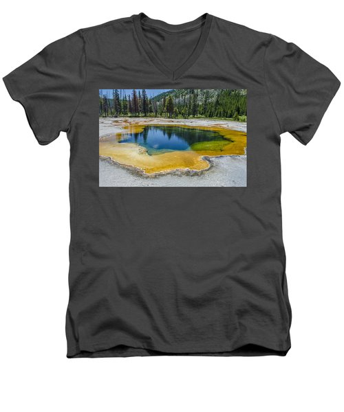 Colors Of Yellowstone Men's V-Neck T-Shirt