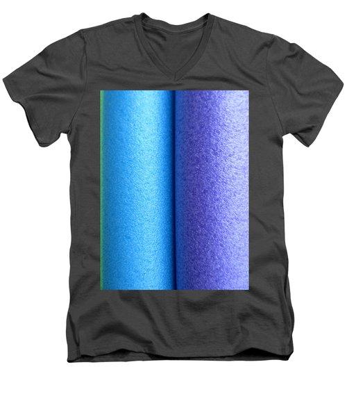 Colorscape Tubes C Men's V-Neck T-Shirt