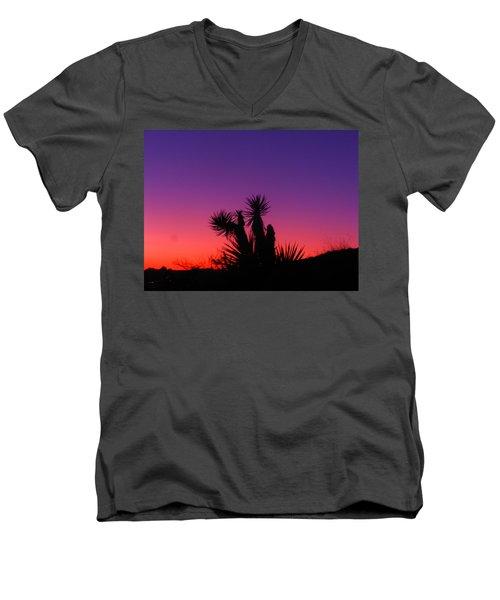 Colourful Arizona Men's V-Neck T-Shirt