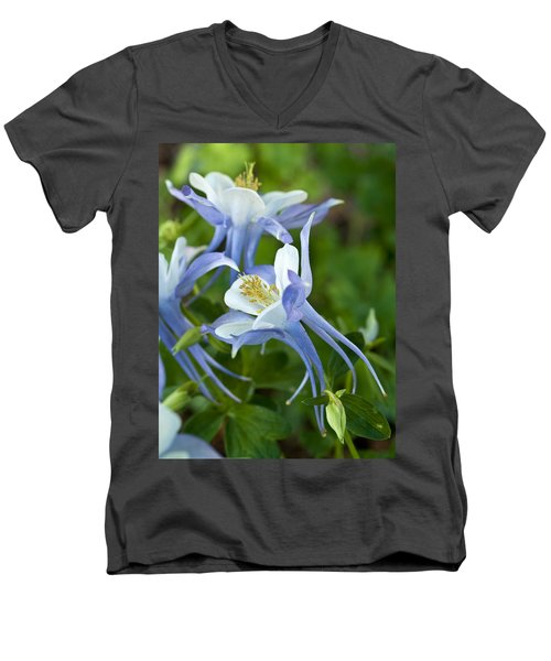 Columbine-2 Men's V-Neck T-Shirt