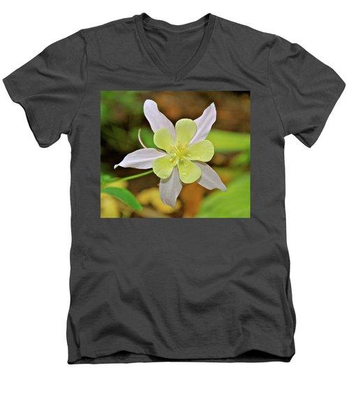 Columbine Charlie's Garden Men's V-Neck T-Shirt