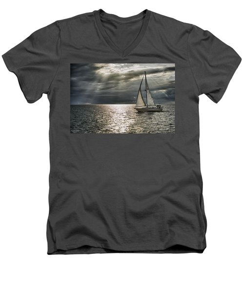 Come Sail Away Men's V-Neck T-Shirt