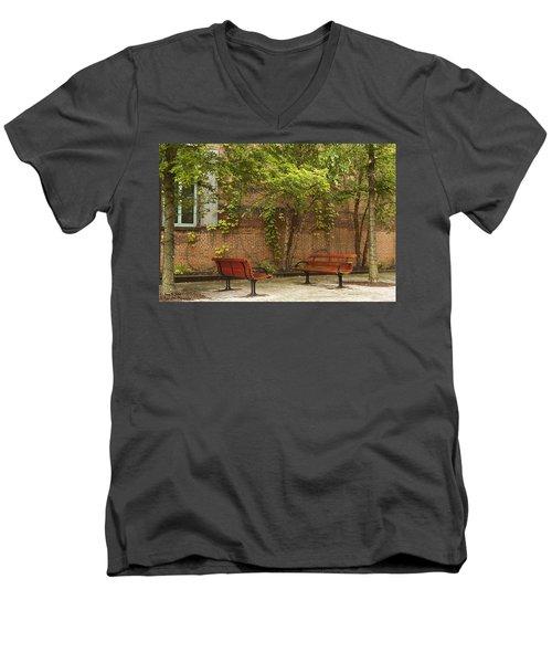 Come Sit With Me Men's V-Neck T-Shirt