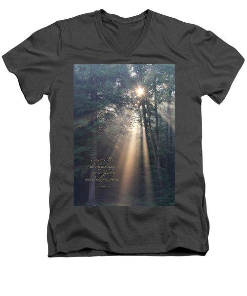 Come To Me Men's V-Neck T-Shirt