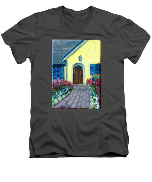 Coming Home Men's V-Neck T-Shirt by Laurie Morgan