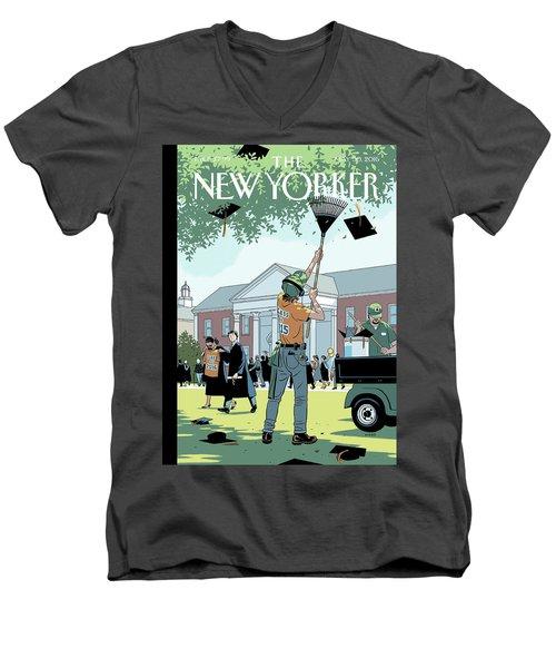 Commencement Men's V-Neck T-Shirt