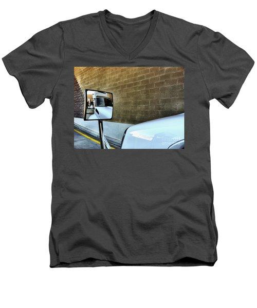 Commercial Truck Men's V-Neck T-Shirt