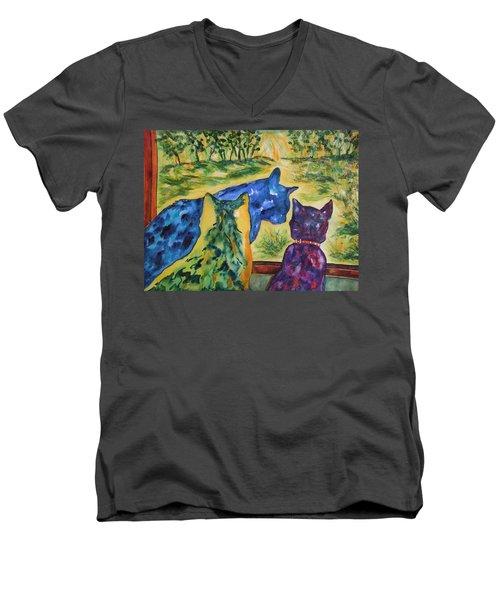 Companions Men's V-Neck T-Shirt
