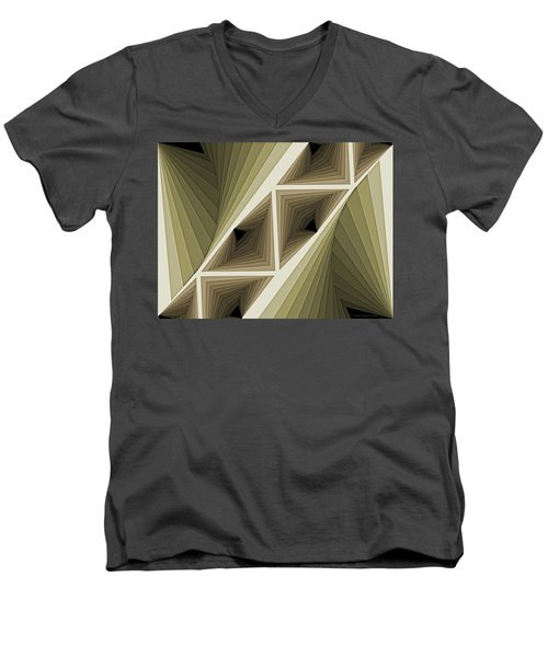 Composition 132 Men's V-Neck T-Shirt by Terry Reynoldson