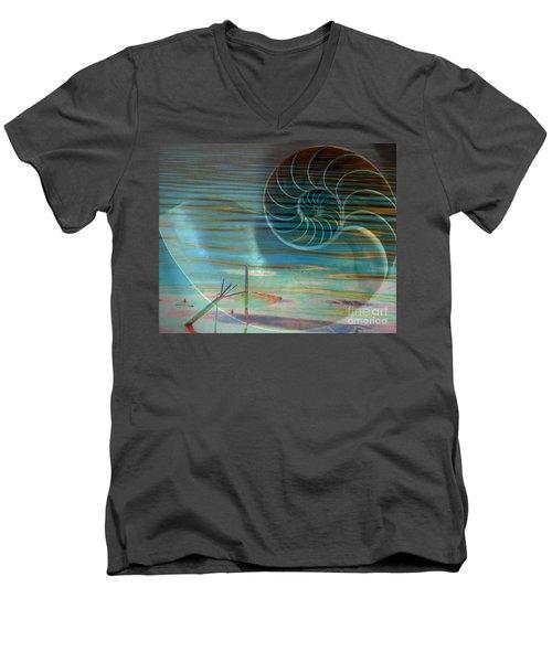 Conch Men's V-Neck T-Shirt