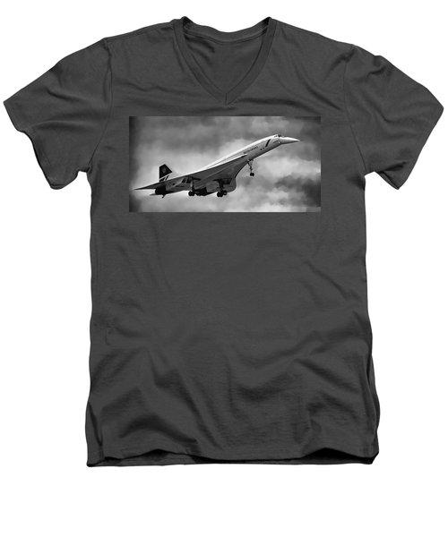 Concorde Supersonic Transport S S T Men's V-Neck T-Shirt