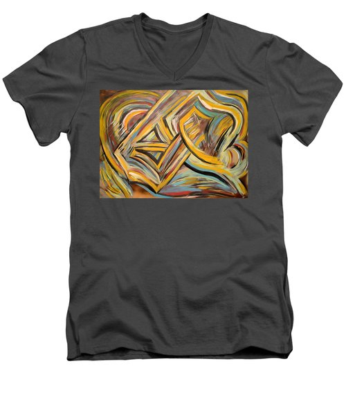 Connection Men's V-Neck T-Shirt