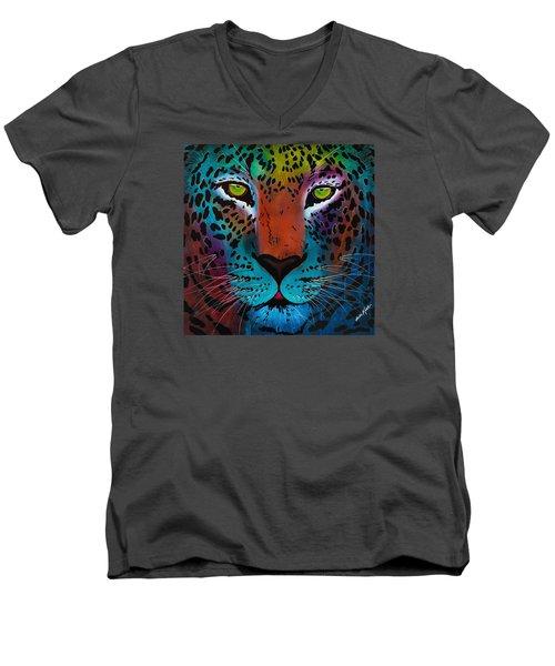 Content Leopard Men's V-Neck T-Shirt