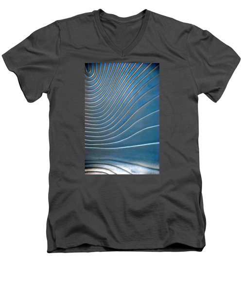 Contours 1 Men's V-Neck T-Shirt by Wendy Wilton
