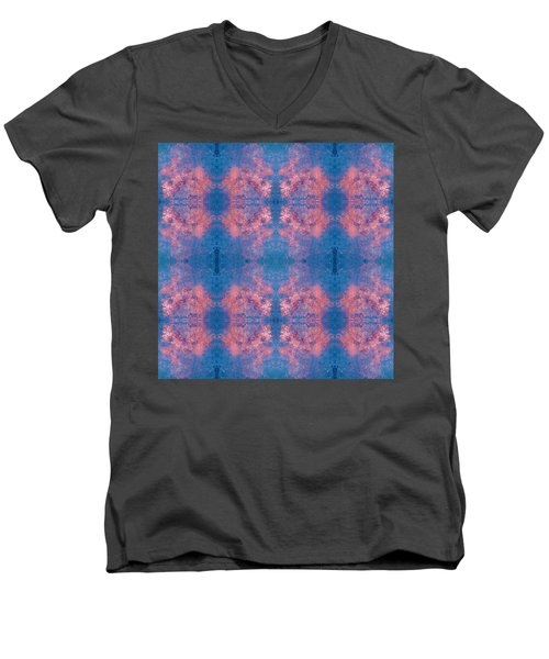Men's V-Neck T-Shirt featuring the photograph Controlled Chaos by Stephanie Grant