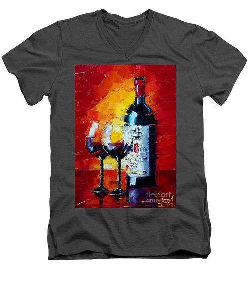 Conviviality Men's V-Neck T-Shirt