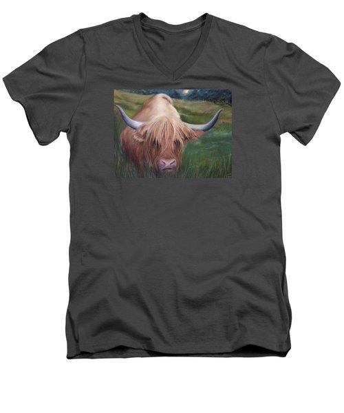 Coo Men's V-Neck T-Shirt