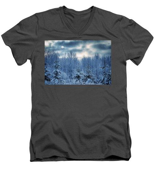 Cool Sunrise Men's V-Neck T-Shirt