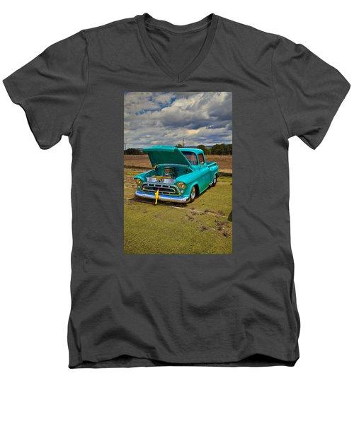 Cool Truck Men's V-Neck T-Shirt