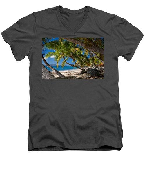 Cooper Island Men's V-Neck T-Shirt