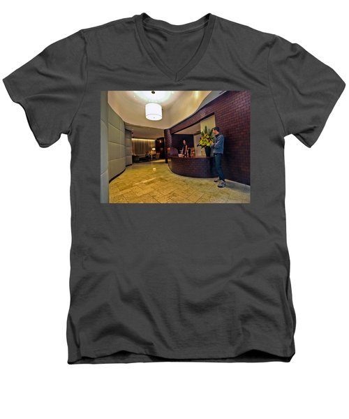 Cooper Lobby Men's V-Neck T-Shirt