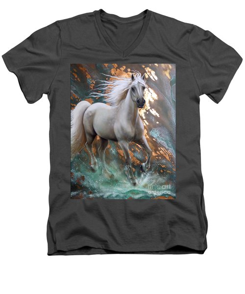 Copper Sundancer - Horse Men's V-Neck T-Shirt