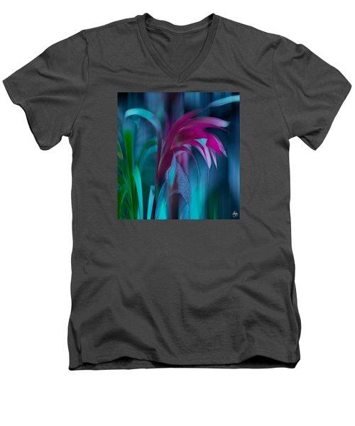 Cornflower Dreams Mindscape Men's V-Neck T-Shirt
