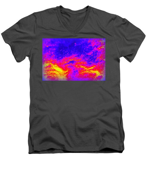 Cosmic Series 005 Men's V-Neck T-Shirt